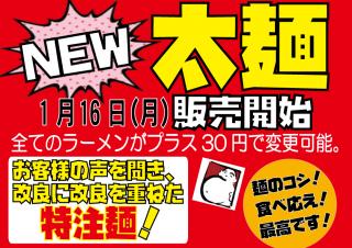 NEW太麺開始1